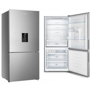 482L Hisense Bottom Mount Fridge Freezer 300x300