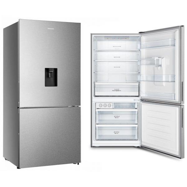 482L Hisense Bottom Mount Fridge Freezer