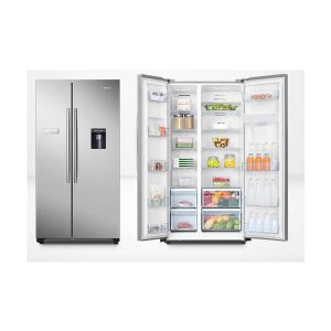 624L Hisense Side By Side Fridge Freezer 300x300