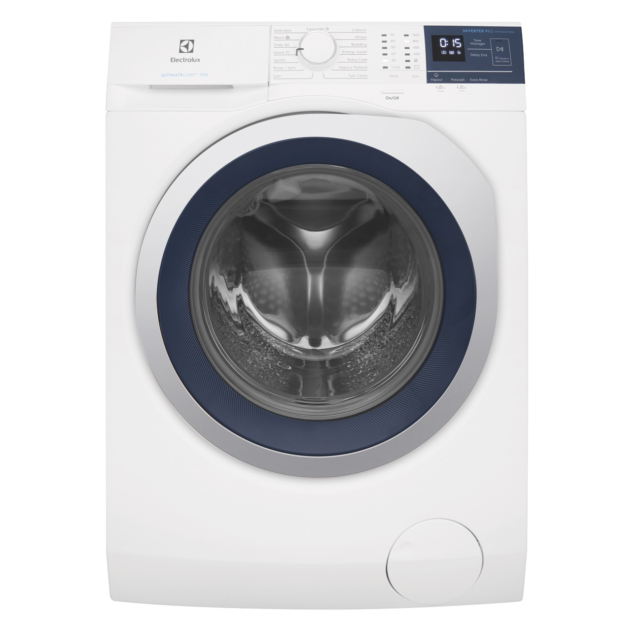 9kg Electrolux Front Load Washing Machine