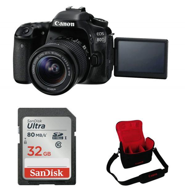 Canon 80D Single Lens Kit