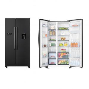 Hisense 624l Black Refrigerator 300x300