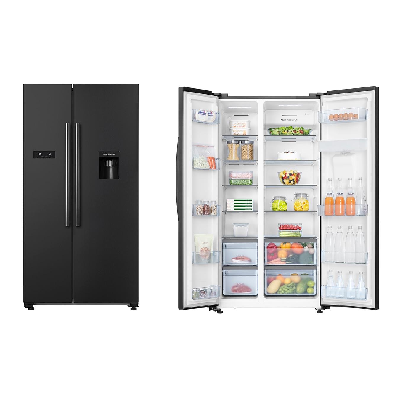 Hisense 624l Black Refrigerator
