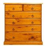 Samson 6 drawer tallboy